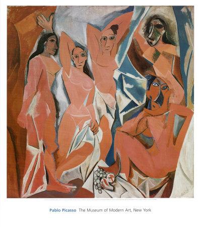 Les Demoiselles Davignon by Pablo Picasso
